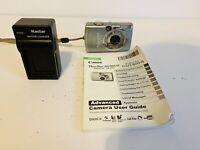CANON POWERSHOT SD700 IS DIGITAL ELPH CAMERA w/ BATTERY & Manual