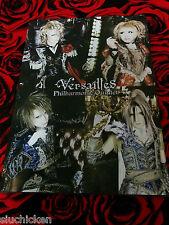 Versailles - Philharmonic Quintet Pamphlet - Japan Kamijo Lareine Hizaki Jupiter
