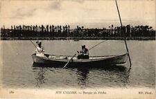 CPA Sur l'Allier-Barque de Péche (262597)