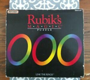 Rubik's Magic Puzzle 1986 Vintage Original