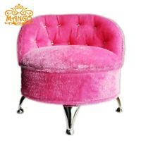 Pink dollhouse furniture makeup Table Chair Jewelry box collectible USA Seller