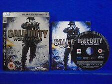 ps3 CALL OF DUTY World At War S* Steelbook Tin Edition WWII 2 PAL UK REGION FREE