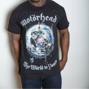 Motorhead 'The World Is Yours Album' T-Shirt - NEW & OFFICIAL