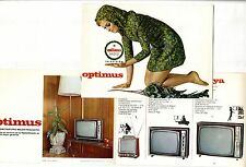 OPTIMUS RADIO - CATALOGO DE TELEVISION  AÑOS 70 ORIGINAL   ESPAÑOL