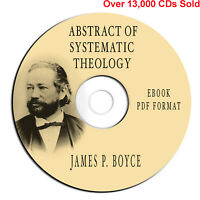 Abstract Systematic Theology-James Boyce-Bible Commentary-Study-eBook PDF on CD