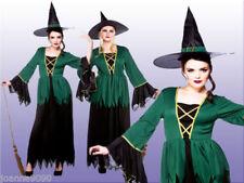 Disfraces de mujer brujos color principal verde