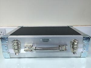 Ultrasonics Briefcase Flightcase - Carpet Lined - Black Hexaboard