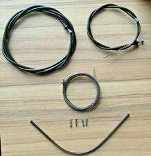CLARKS BLACK EASY GLIDE CABLE SET MADE IN ENGLAND RRP £17.50