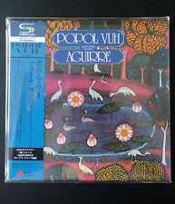 Popol Vuh-Aguirre SHM MINI LP Style CD EAN 4527516600525 Neuf. Musique de Film
