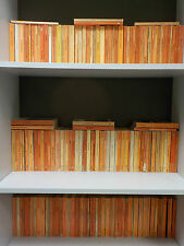 150 Orange Penguin Books - Ideal For Decoration / Interior Design!