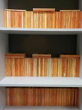 150 Orange Penguin Books - Ideal For Decoration / Interior Design!