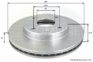 FOR CHEVROLET OPTRA 1.8 L COMLINE FRONT BRAKE DISCS ADC1054V