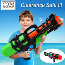 "23"" Large Water Gun Pump Action Super Soaker Sprayer Outdoor Beach Garden Toy UK"