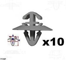 10x Seitenzierleisten Befestigung Clips IVECO Daily 71187