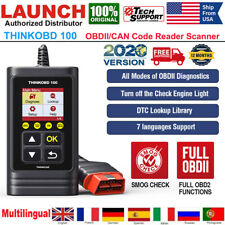 THINKOBD 100 Car OBD2 CAN Code Reader Check Engine Light Fault Diagnostic Tool