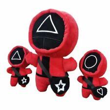 Squid Game Red Soft Plüsch Plüschtier Figur Kuscheltier Stofftier Child Geschenk