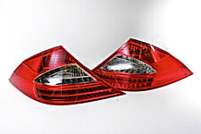 Crystal Clear LED Tail Lights PAIR For Mercedes CLS-Class 219