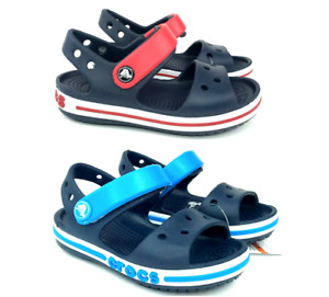 Crocs Crocband baby sandals stylish water friendly beach comfy shoes Blue/Red