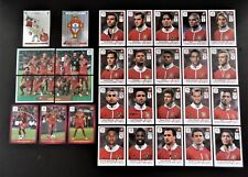 Panini UEFA Euro 2012 Poland/Ukraine Complete Team Portugal + 2 Foil Badges