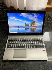 HP EliteBook 8560p Intel i7 12GB RAM 500GB SSD HD Win10 Pro 64  Nice!!