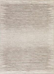 Distressed Design Abstract Modern Oriental Area Rug All-Over Carpet 8x11