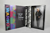 RARE BRAND NEW SEALED Platinum Label Barbie Andy Warhol Doll NRFB Mattel 2015