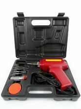New 5pc 100W Soldering Gun Kit w/Case Iron Solder Professional Style Sodering