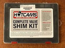 Hot Cams Valve Shim Complete Kit Honda CRF Yamaha YZ Suzuki RMZ HCSHIM01 560896