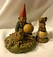"Collectible 2 Tim Wolfe / Tom Clark Golf Gnomes ""Birdie"" & ""Chi Chi"""