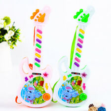Electric Guitar Toy Musical Play For Kid Boy Girl Toddler Learning Electronic