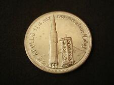 Yemen, 2 Rials, 1969, Apollo 11, silver,, UNC