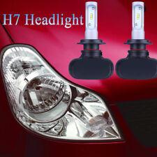 H7 iSincer LED Auto Scheinwerfer 240W 24000LM Umwandlung Strahler 6000K Weiß Top