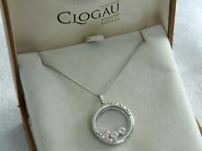 Clogau Silver & Welsh Gold Celebration Inner Charm Pendant RRP £169.00