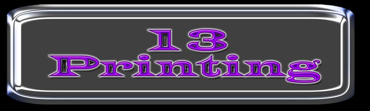13 Printing