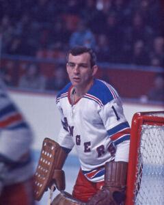 New York Rangers ED EDDIE GIACOMIN Glossy 8x10 Hockey Photo Print Poster HOF 87