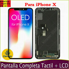 Pantalla OLED Para iPhone X LCD Pantalla Táctil Digitalizador Display Negro