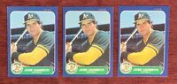 Lot of (3) 1986 Fleer Update JOSE CANSECO Rookie Card #U-20 RC Oakland A's🔥