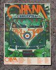 Pearl Jam Eddie Vedder Ohana Fest  2021 Event Poster