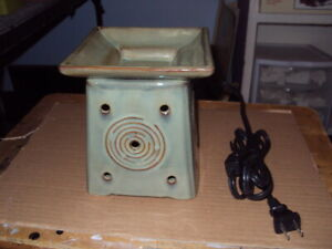 Authentic Scentsy Warmer * SENDAI * Full-Size * Retired *