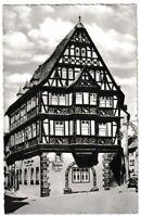 Ansichtskarte Miltenberg am Main - Blick auf das Hotel Riesen - schwarz/weiß