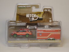 1:64 2016 Ford Explorer FDNY & Special Operations command Trailer(green machine)