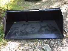 "New 72"" Skid Steer/Tractor Snow/Mulch 6' Bucket-for Bobcat, Case, Cat & more"