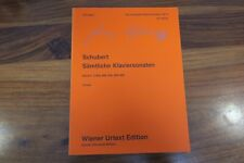 PARTITION - SCHUBERT - SAMTLICHE KLAVERSONATEN  / COMPLETE PIANO SONATAS VOL. 3