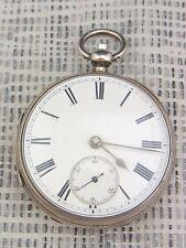 alte Taschenuhr Schlüssel Silber England