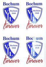 VfL Bochum Aufkleber 4er Set Sticker - forever - Logo Fussball #575
