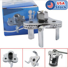 2 Way Oil Filter Wrench Auto Adjustable Universal 3 Jaw Remover Socket 12 38