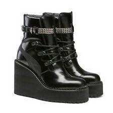 $350 NWOB FENTY Puma x Rihanna Chain Embellished Sneaker Boot Wedges, 10,5US