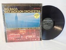 BIG BAGS MILT JACKSON RIVERSIDE RLP 9429 STEREO JAZZ RECORD ALBUM w/ SHRINK WRAP