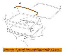 FORD OEM 94-04 Mustang Rear Window Glass-Upper Molding Trim F4ZZ6342430BAM