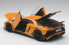 Autoart LAMBORGHINI AVENTADOR LP750-4 SV ORANGE  2015 1/18 Scale New!